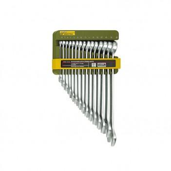 Clés SlimLine mixtes à fourche et polygonale 15 pce. 6-21mm Proxxon