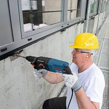 Perforateur SDS plus 830W 2,7J GBH 2-26 F + Forets et burins Bosch