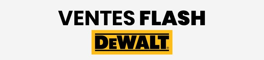 Ventes flash DeWalt Jusqu'à -50% | MyToolSwiss.ch