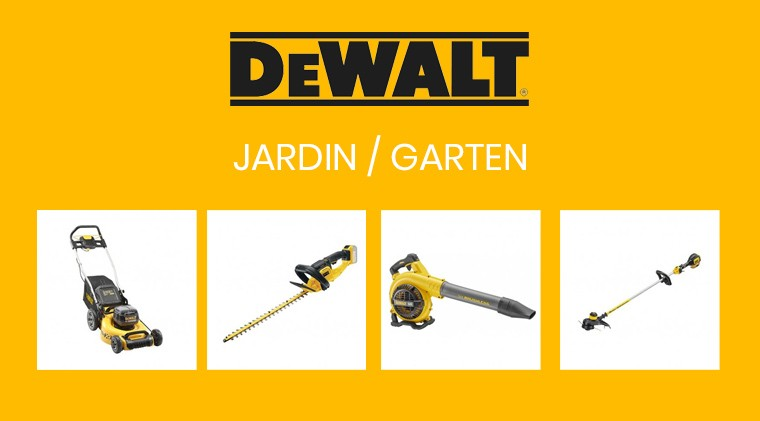 Machines jardin DeWalt