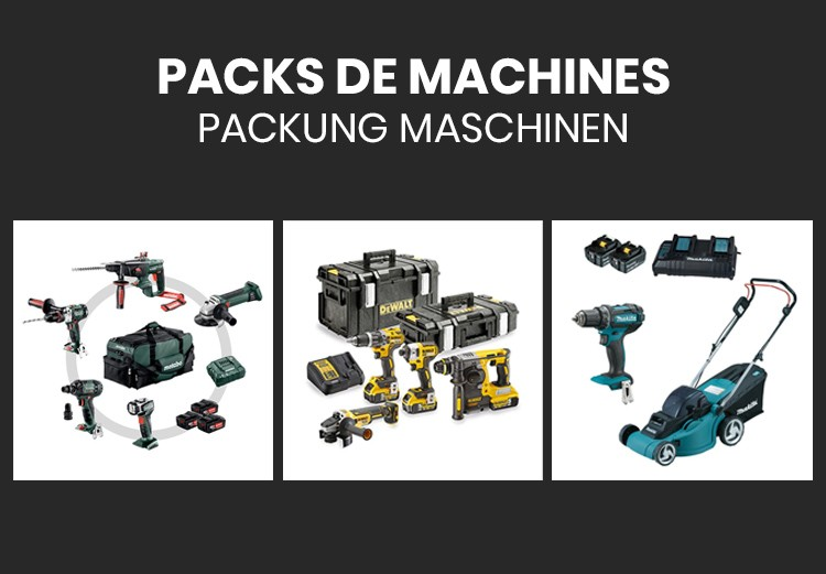 Pack de machines