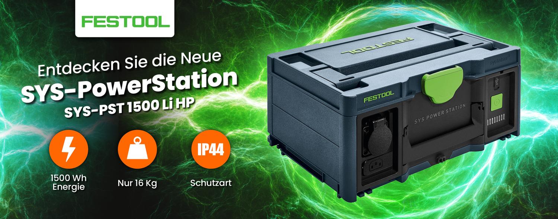 SYS-PowerStation SYS-PST 1500 Li HP Festool